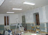 Rénovation de la salle 20/03/2004