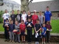 Participants aux tournois jeunes